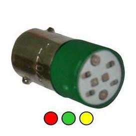 Bombillos bayonetas tipo LED (BA9S)