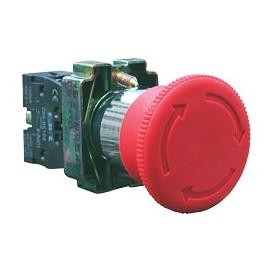 Pulsadores base métalica Ø22mm - EBCHQ