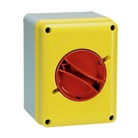 Interruptor rotativo de Emergencia en caja plástica