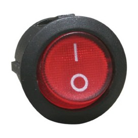 Interruptor de balancín redondo Ø20mm (PANEL) - RLEIL