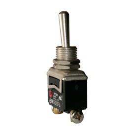 Interruptor de codillo metalico 1 polos - UL 20A/125V