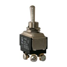 Interruptor de codillo metalico 2 polos - UL 20A/125V