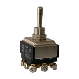 Interruptor de codillo metalico 3 polos - UL 20A/125V