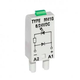 Indicadores LEDS para bases relevos de 5/8/11/14 pines planos