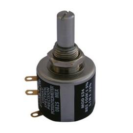 Potenciómetro lineal 2 Watts - 70°C - 10 Vueltas