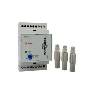 Control de nivel 3 electrodos riel DIN - sensibilidad ajustable