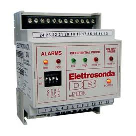 Control de nivel hasta 7 electrodos (no incluidos) riel DIN - Sensibilidad ajustable