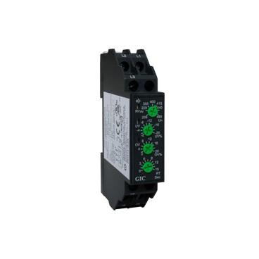 Control de tensión trifásico 208-480VAC