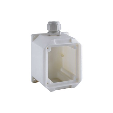Cajas plástica para tomas industriales de sobbreponer
