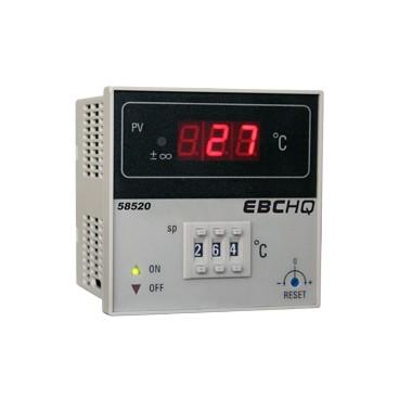 Controlador de temperatura Entrada J