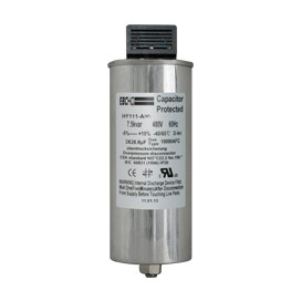 Condensador de potencia trifasico seco cilindrico de 5 a 20Kvar - 230VAC
