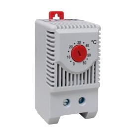 Termostato montaje en riel 0 a +60ºC IP20
