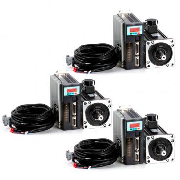 KIT CNC Servomotor AC 3 eje - Monofásico 208-230/240V