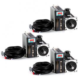 KIT CNC Servomotor AC 3 eje - Trifásico 208-230/240V