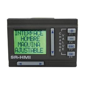 Display removible LCD para SR