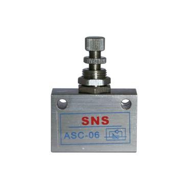 Válvula de control de flujo en línea ASC