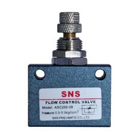 Válvula de control de flujo en línea ASC100 y ASC200