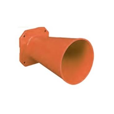 Bocina direccional para sirenas anti-explosivas ATEX