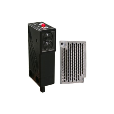 Sensor fotoeléctrico retro-reflectivo