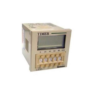 Temporizador Multirango 3 dígitos 24-240VAC/DC