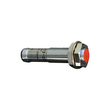Sensor de proximidad inductivo Cilíndrico - Tipo conector - Cuerpo metálico