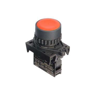 Pulsadores base plástica Ø22mm
