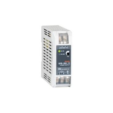 Fuente switcheada - riel DIN - 60 ó 120 ó 240W Protección por sobrecarga y corto circuito