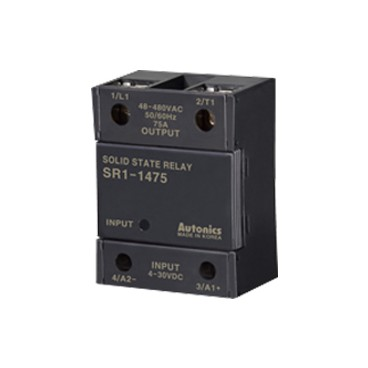 Rele de estado solido SSR unipolar -Indicador LED - UL 25-75A