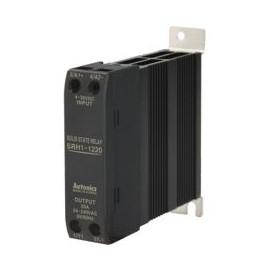 Relé de estado sólido SSR unipolar -Disipador de calor - Indicador LED - UL 15-60A