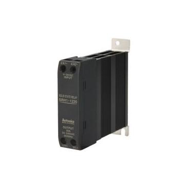 Rele de estado solido SSR unipolar -Disipador de calor - Indicador LED - UL 15-60A