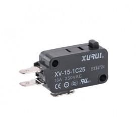 Microswitches tipo miniatura XV IP40
