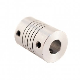 Acople flexible en aluminio 7 x 8 mm.