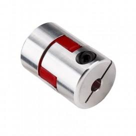 Acople flexible en aluminio 5 x 10 mm.