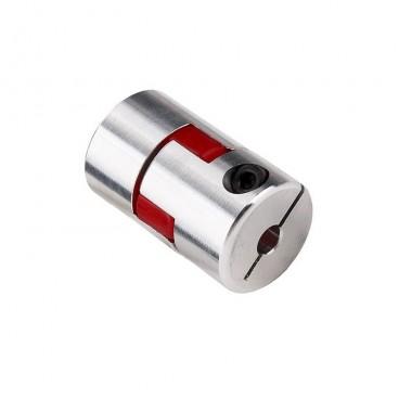 Acople flexible en aluminio 6.35 x 10 mm.